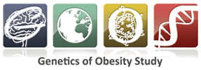 GOOS logo: Genetics of Obesity Study