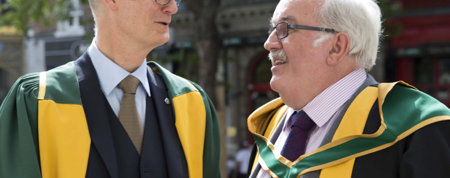 Professor Sir Stephen O'Rahilly is one of 18 new members of the Royal Irish Academy