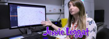 Screenshot of Jennie Leggat from Operation Ouch