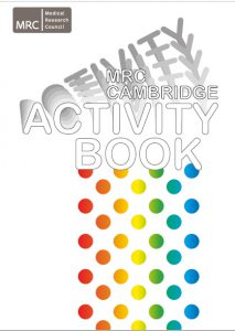 MRC Cambridge Activity book cover image
