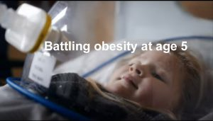 Battling obesity at age five video link