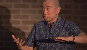 Dr Giles Yeo delivers a Cambridge university TEDx talk