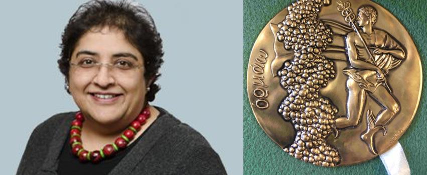 Sadaf Farooqi and Dale Medal